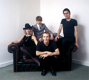 The Go-Betweens and a Couch