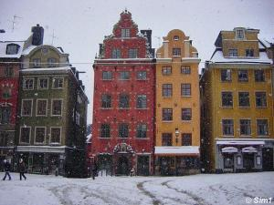 Snowy Stockholm